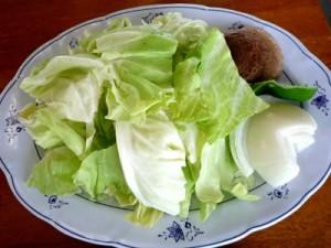 ジンギスカン用焼き野菜