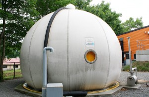 バイオガスプラント ガスホルダー