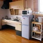 くずまき高原牧場 コテージキッチン