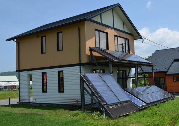 くずまき高原牧場 エコエネルギー住宅