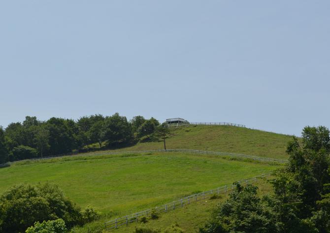 くずまき高原牧場 風の丘展望台