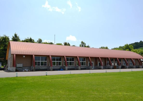 体験交流施設『もく・木ドーム』内部