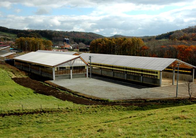 くずまき高原牧場 優良堆肥生産プラント