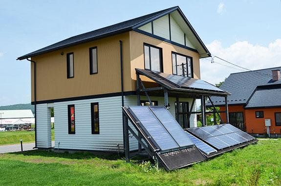 エコエネルギー住宅(外観)